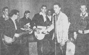 The Deltones at the Jay (FL) American Legion in 1960