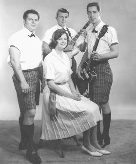 The Original Coincidentals in 1961